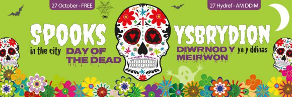 Spooks In Swansea City 2018: Day of the Dead!