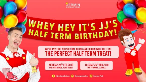 Whey Hey Its JJ's Half Term Party!